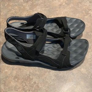 Women's Black size 10 NWOT Columbia Sandals